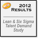 2012 Lean & Six Sigma Talent Demand Study