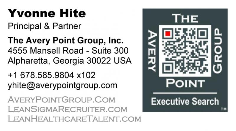 Yvonne Hite's Business Card